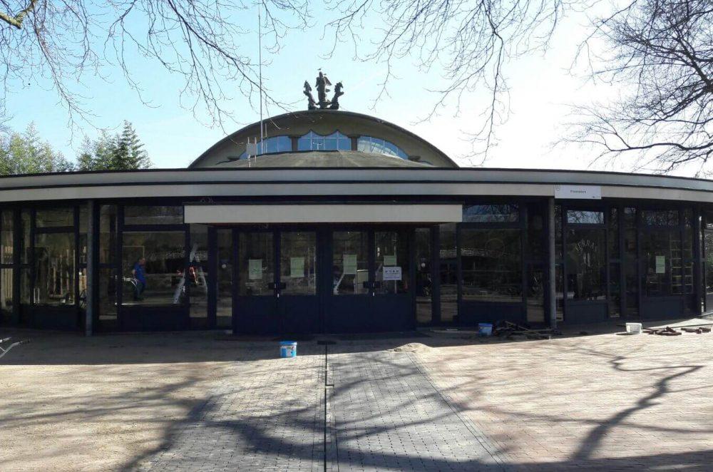 Diergaarde Blijdorp Rotterdam  renovatie restaurant